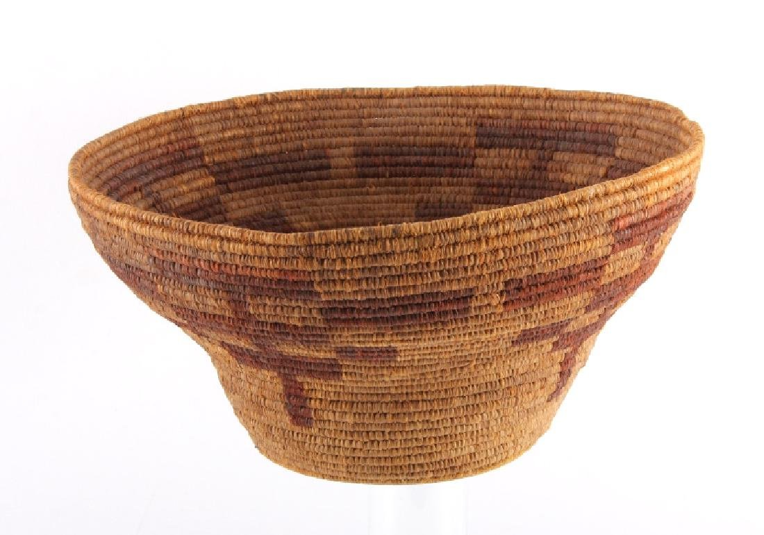 Southwest Native American Indian Coiled Basket