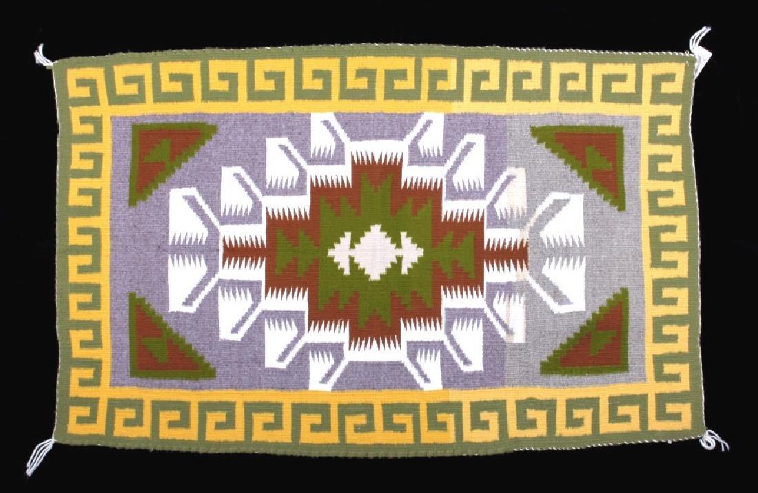 Navajo Teec Nos Pos Pattern Wool Rug - Lisa Seimy