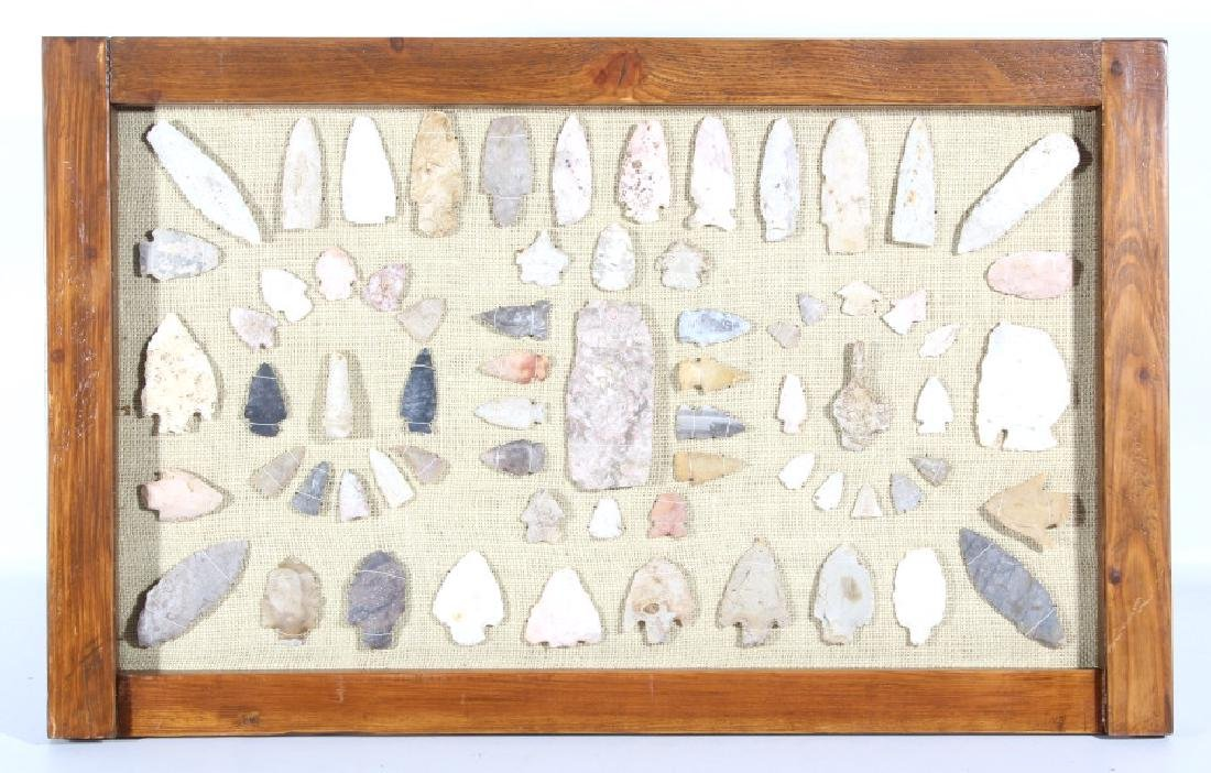 Native American Arrowhead & Artifact Collection