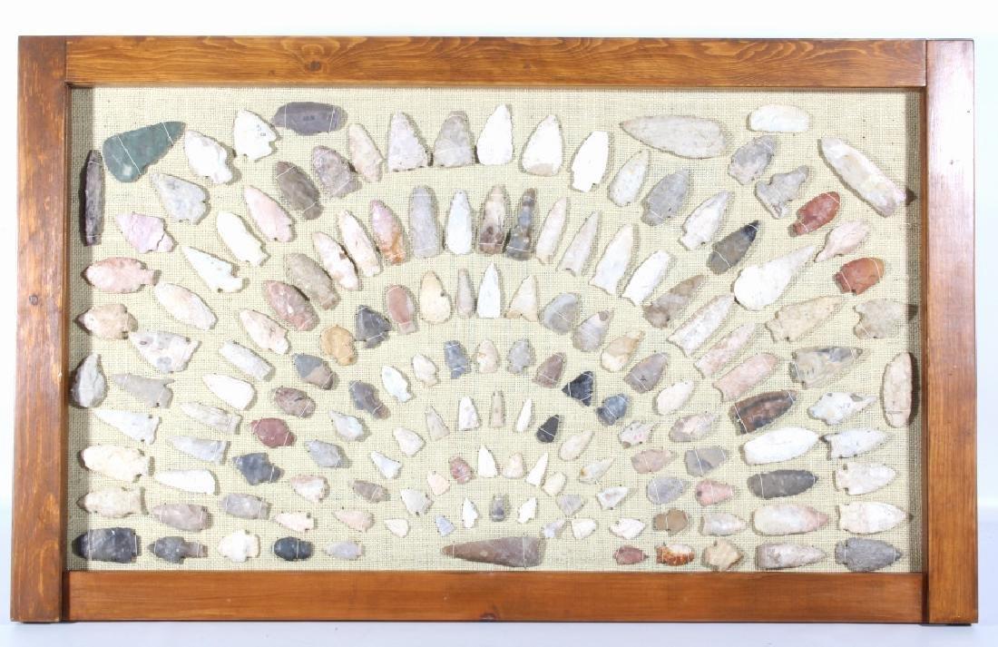 Native American Arrowhead & Artifact Collection