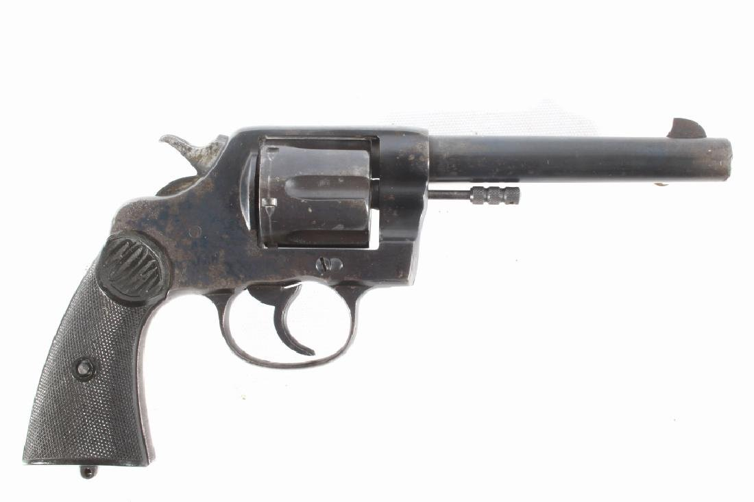 Early Colt New Service .38-40 Revolver 1905