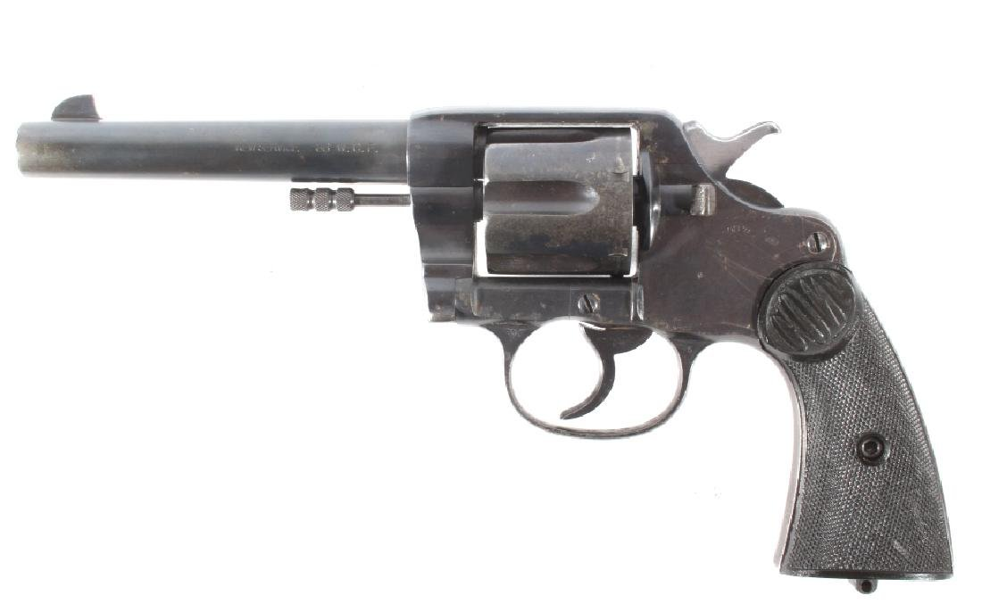 Early Colt New Service .38-40 Revolver 1905 - 6