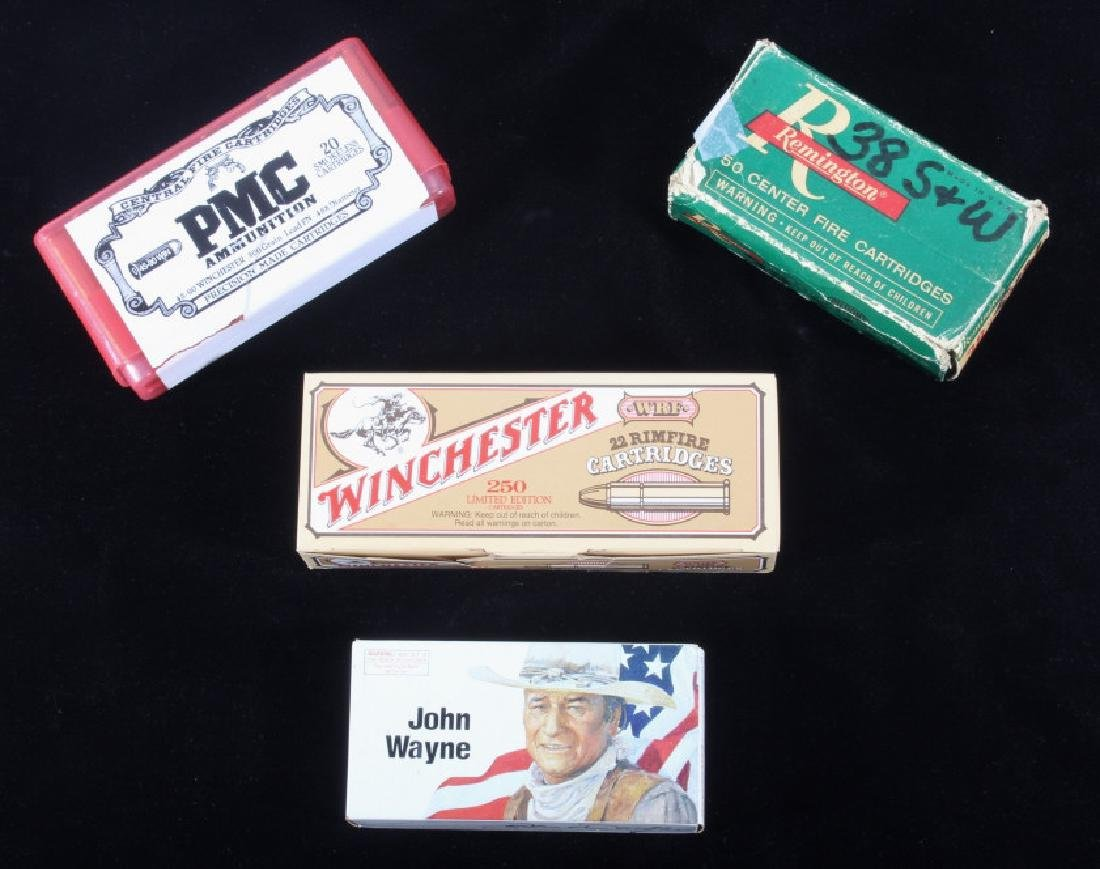 Assorted Collection Of Scarce Loaded Ammo & Boxes