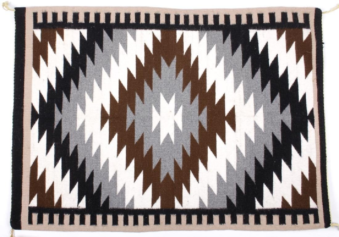 Exceptional Navajo Chinle Pattern Wool Rug