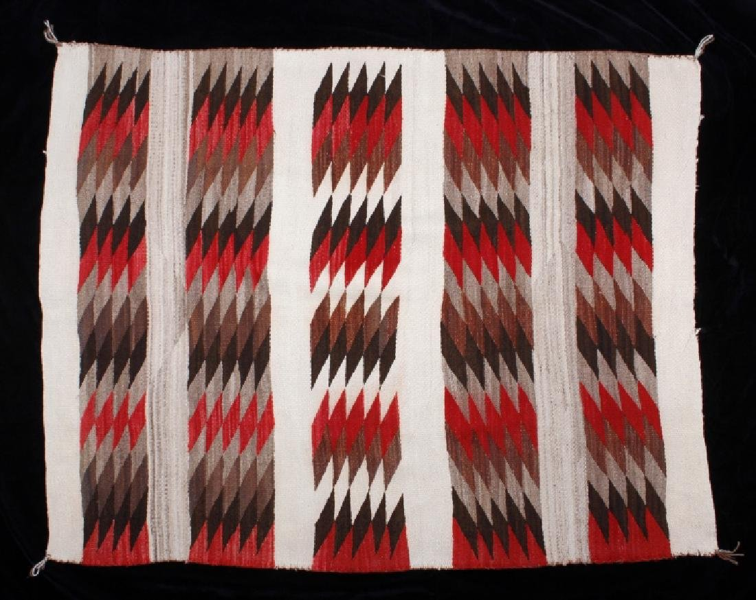 Early Navajo Chinle Pattern Wool Rug