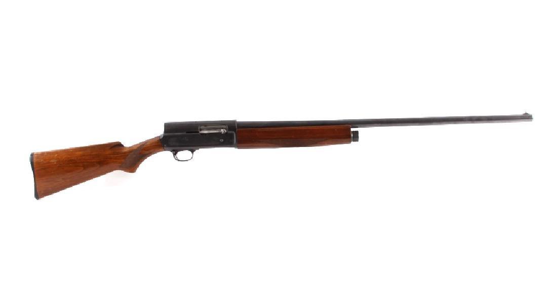 Savage Model 720 Engraved 12Ga. Semi-Auto Shotgun