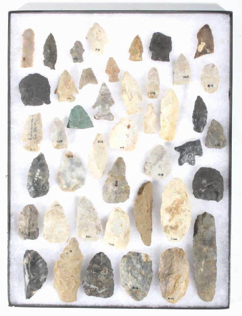 Native American Indian Arrowheads & Artifacts