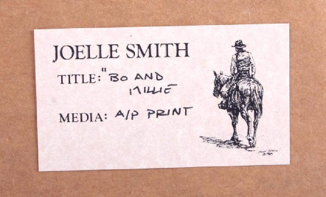 Joelle Smith AP Print w/ Watercolor Remark - 13