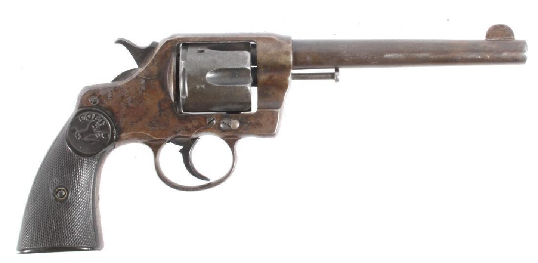 Colt Model 1892 .38 Long Colt D.A. Revolver 1905