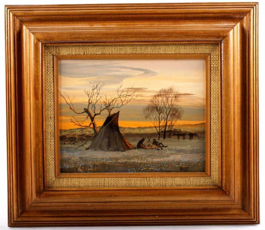 Ron Raymer Original Acrylic Painting