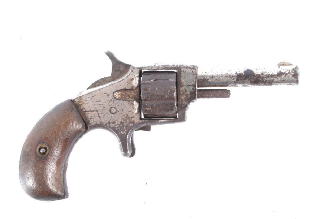 Leader Marked .22 Cal Spur Trigger Revolver