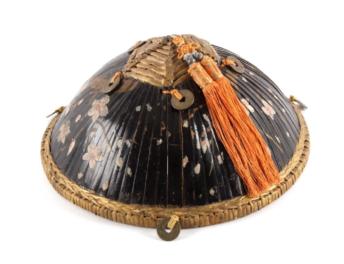Antique Chinese Bamboo Hat