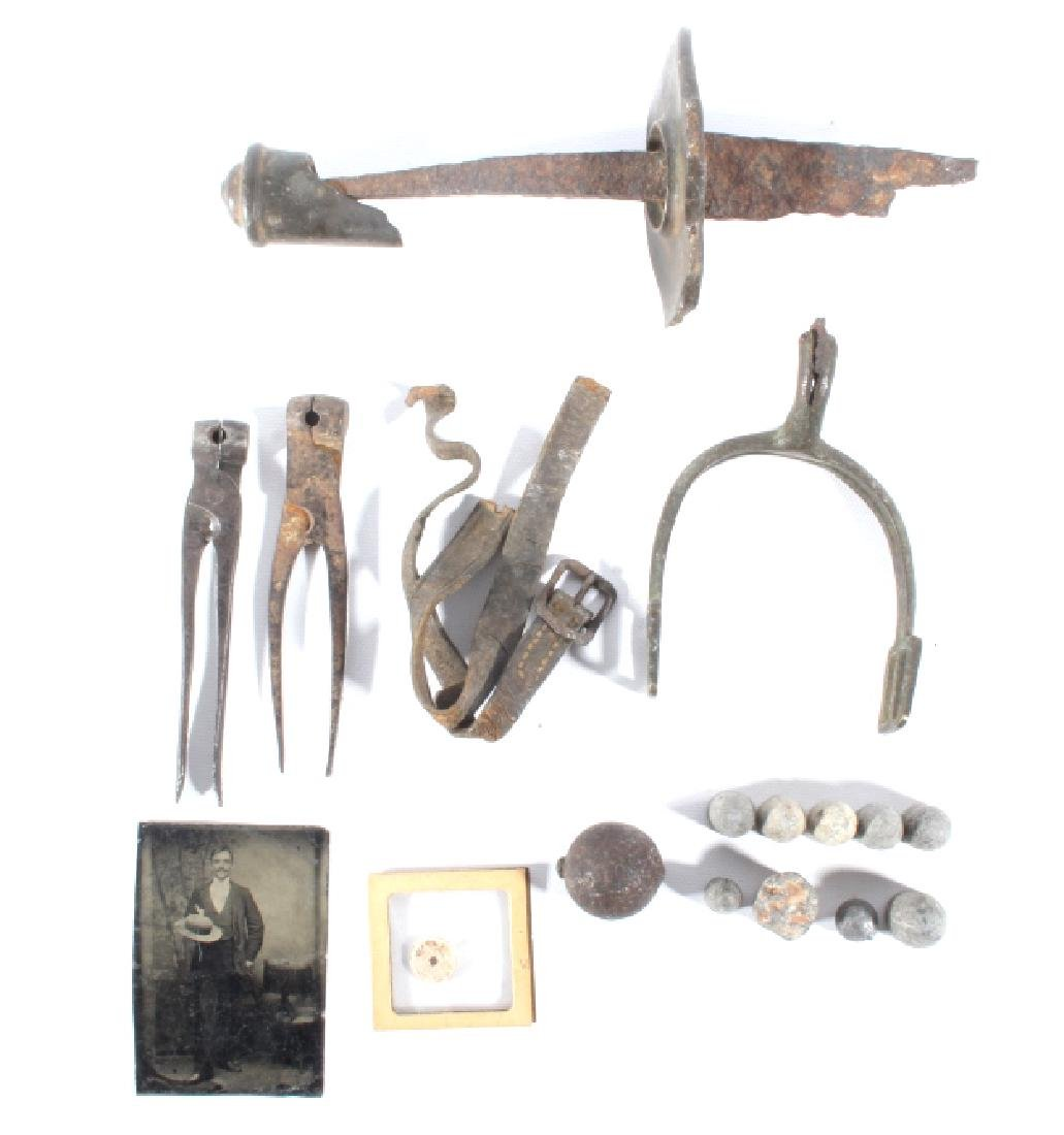 Civil War Battlefield & Soldier Accoutrements