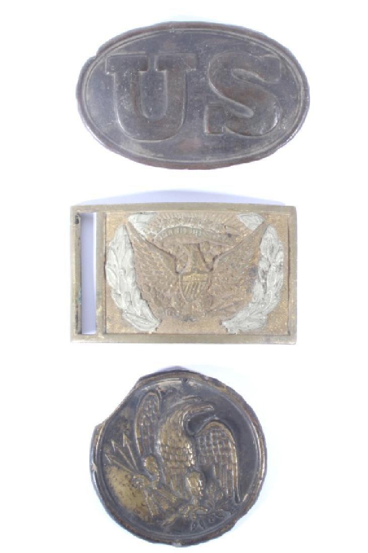 Civil War Union Belt Buckles & Plate Collection
