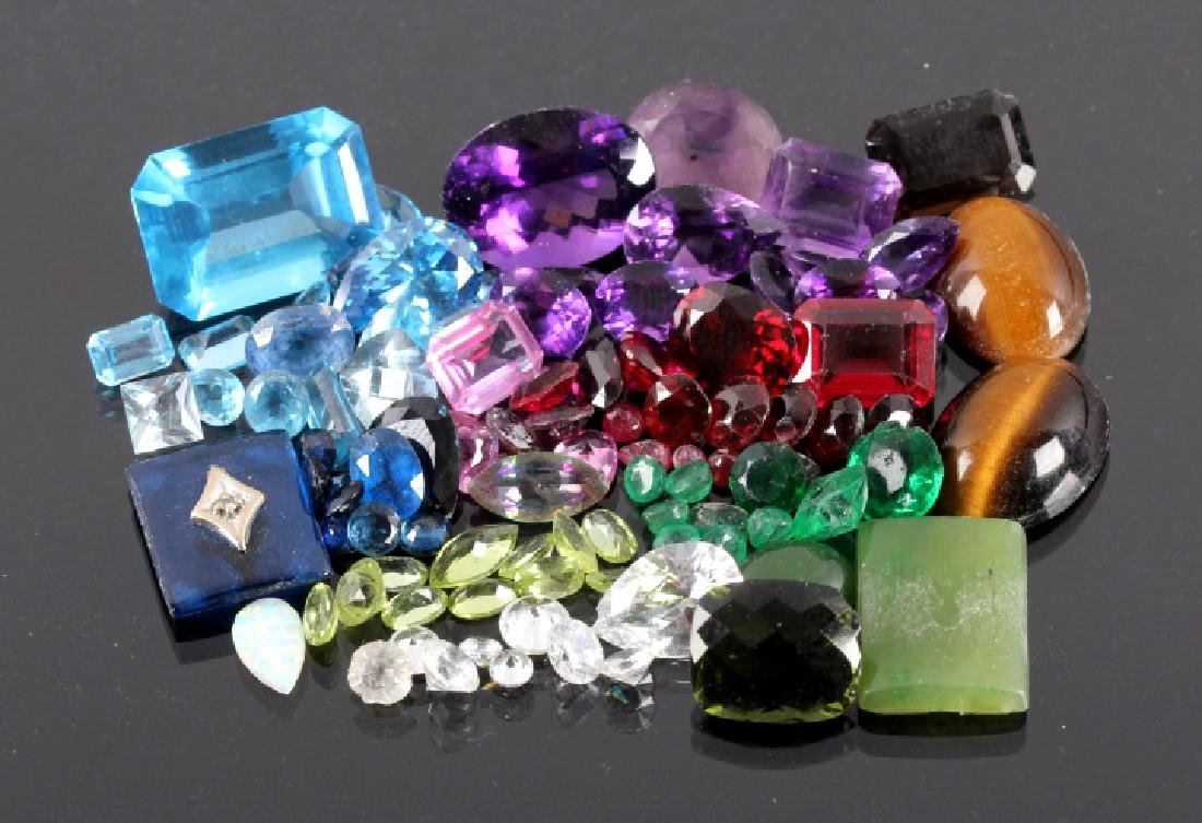 155ct. Loose Precious Gemstone Collection