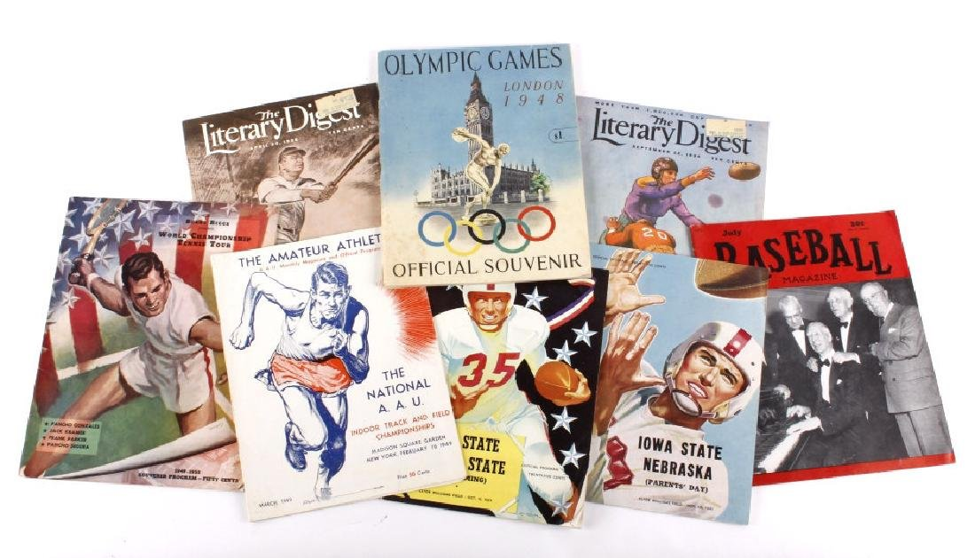 1948 Olympic Games & Various Sports Programs