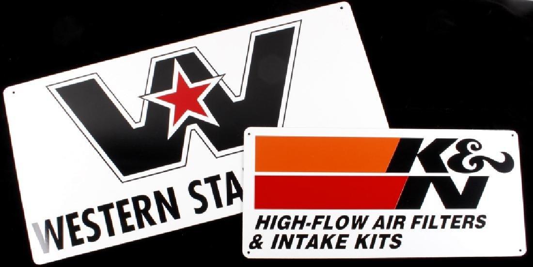 Western Star Trucks & K&N Filter Advertising Signs
