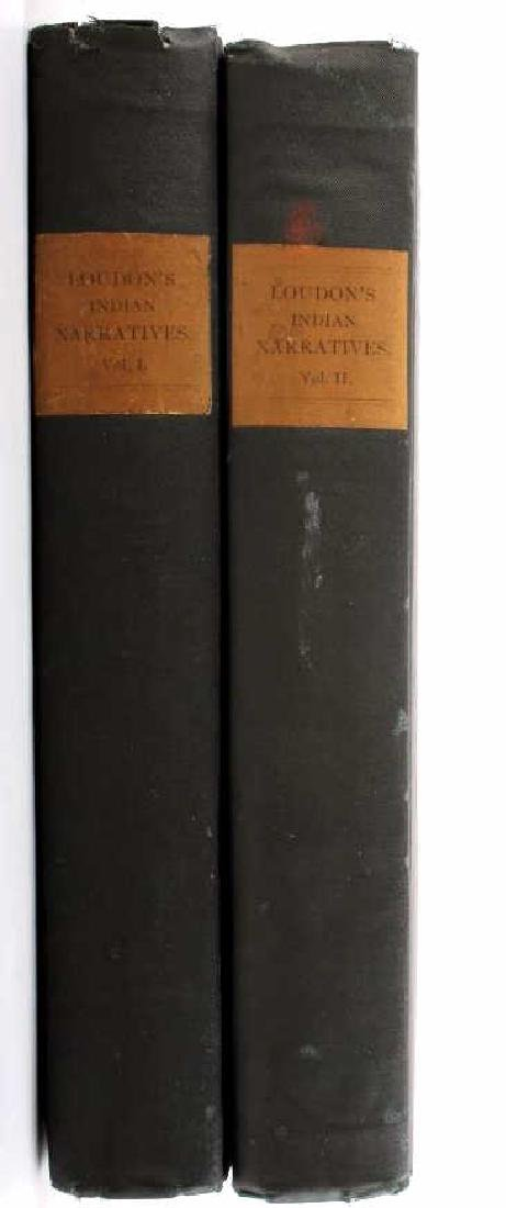 Loudon's Indian Narratives (Two Volumes)
