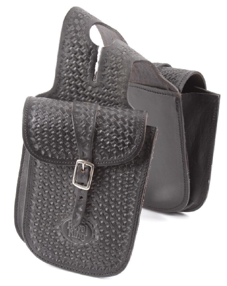 Handmade Royal King Leather Saddle Bags