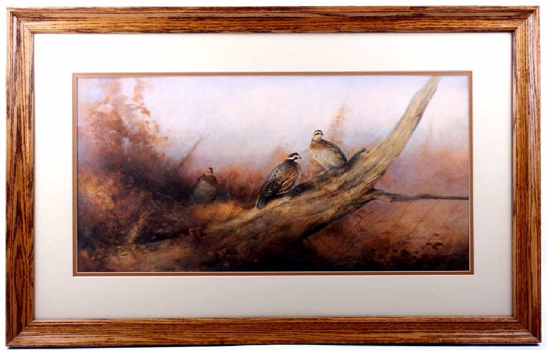Tom Sander Signed Artist's Proof Wildlife Print