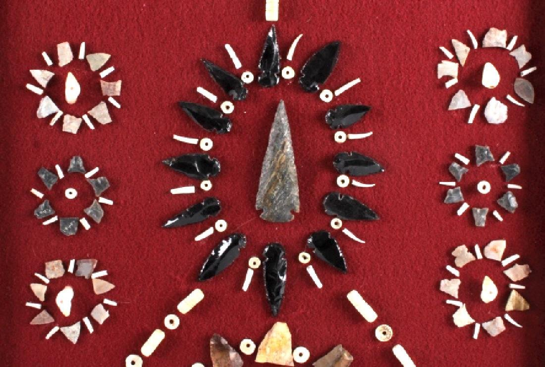 Native American Arrowhead Artifact Collection - 3