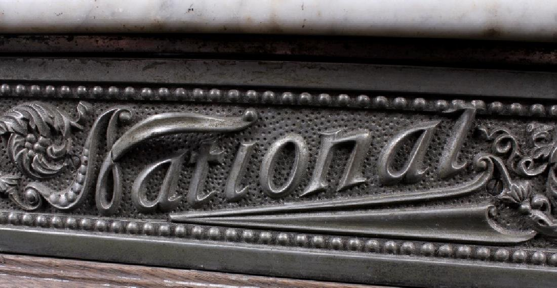 National Model 7 Brass Cash Register 1904 - 13