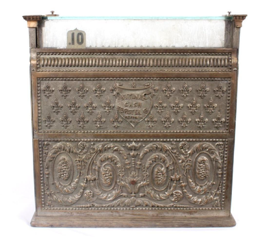 National Model 7 Brass Cash Register 1904 - 15