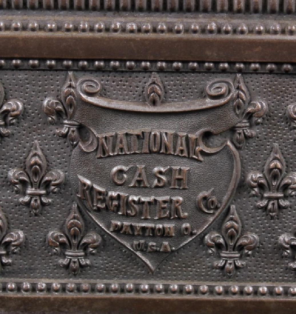 National Model 7 Brass Cash Register 1904 - 3