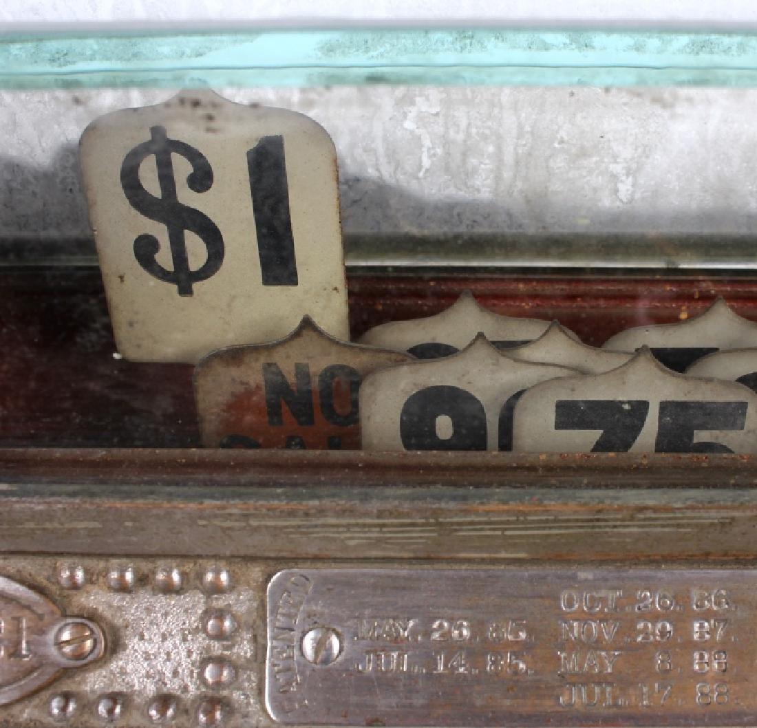 National Model 7 Brass Cash Register 1904 - 5
