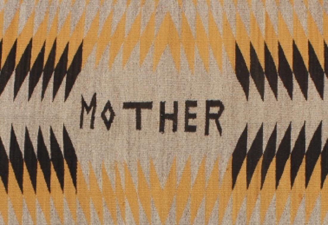 Unusual Navajo Chinle Pattern Wool Rug - 2