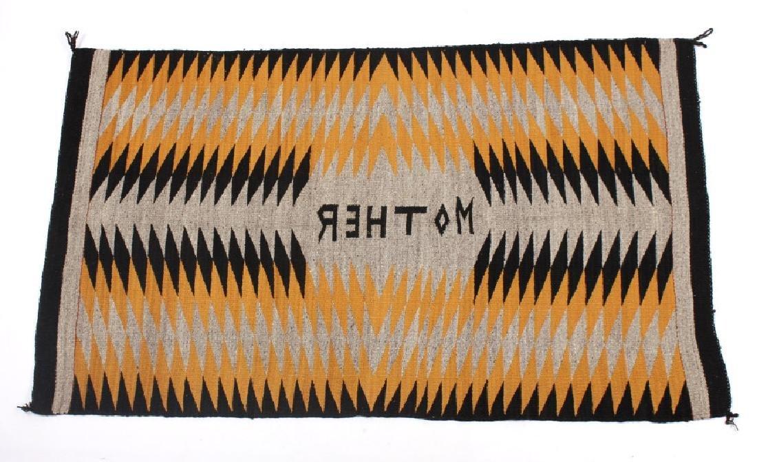 Unusual Navajo Chinle Pattern Wool Rug - 3