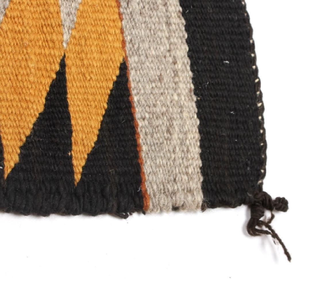 Unusual Navajo Chinle Pattern Wool Rug - 4
