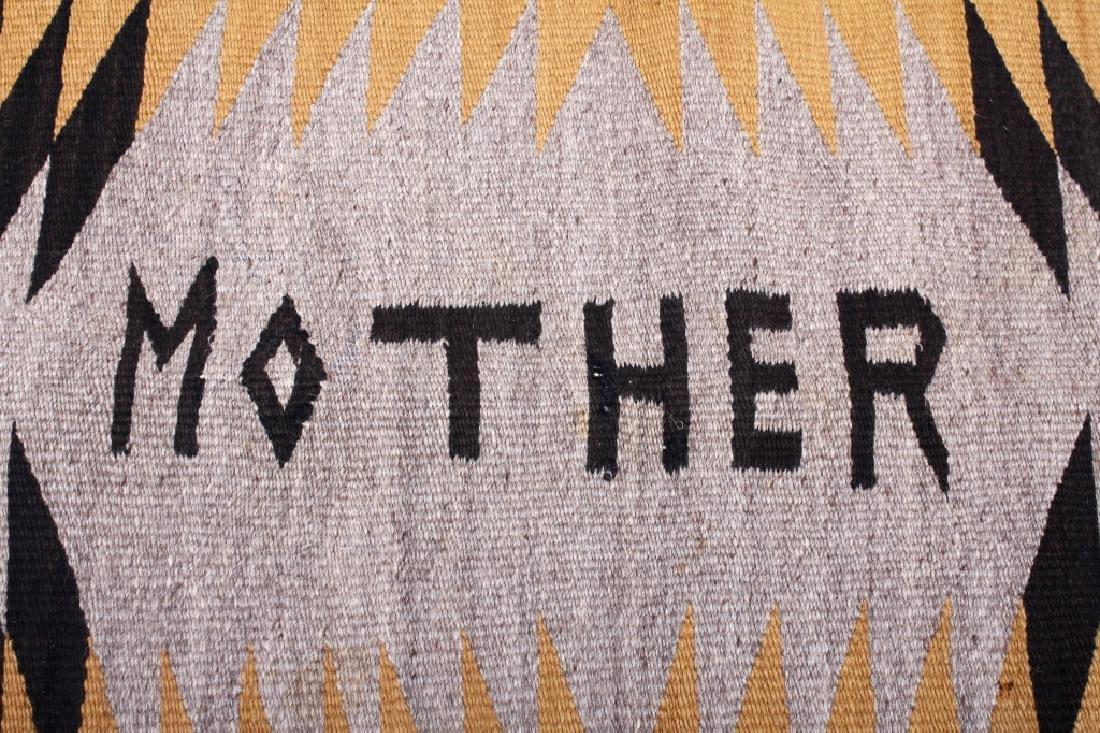 Unusual Navajo Chinle Pattern Wool Rug - 5
