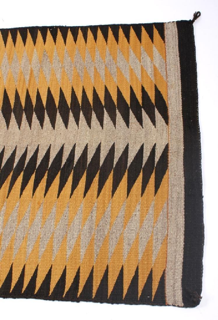 Unusual Navajo Chinle Pattern Wool Rug - 6