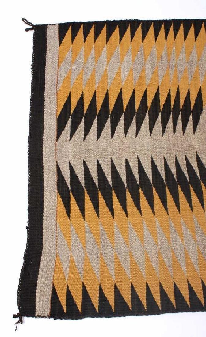 Unusual Navajo Chinle Pattern Wool Rug - 7