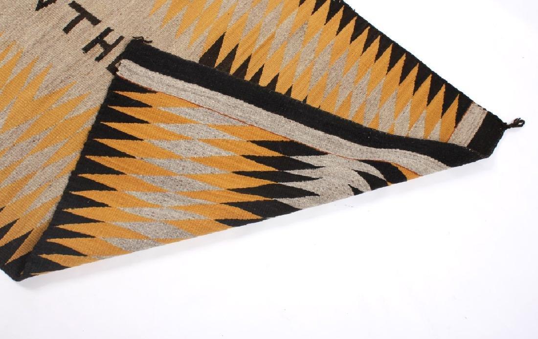 Unusual Navajo Chinle Pattern Wool Rug - 8
