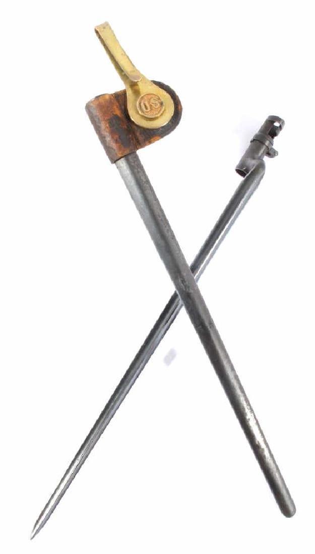 U.S. Springfield Model 1873 Bayonet & Scabbard