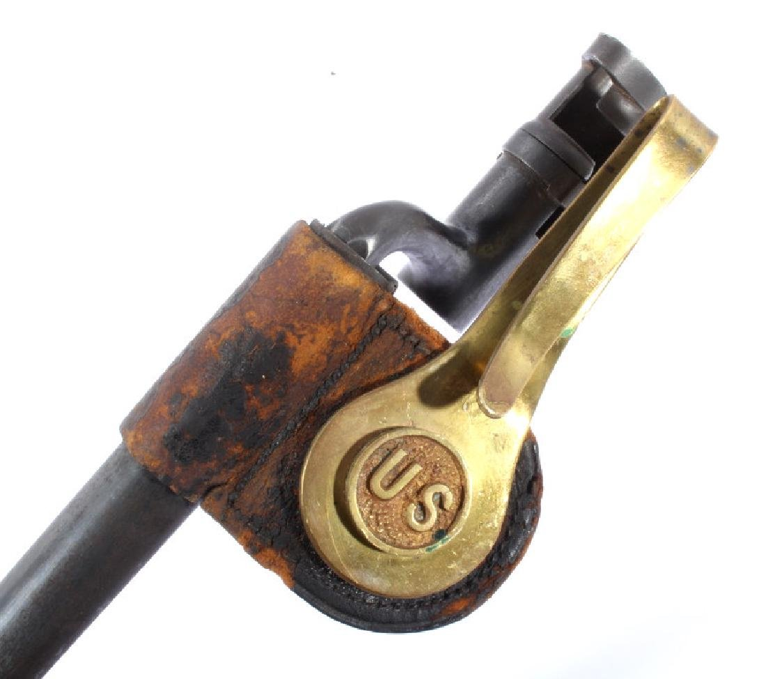 U.S. Springfield Model 1873 Bayonet & Scabbard - 3