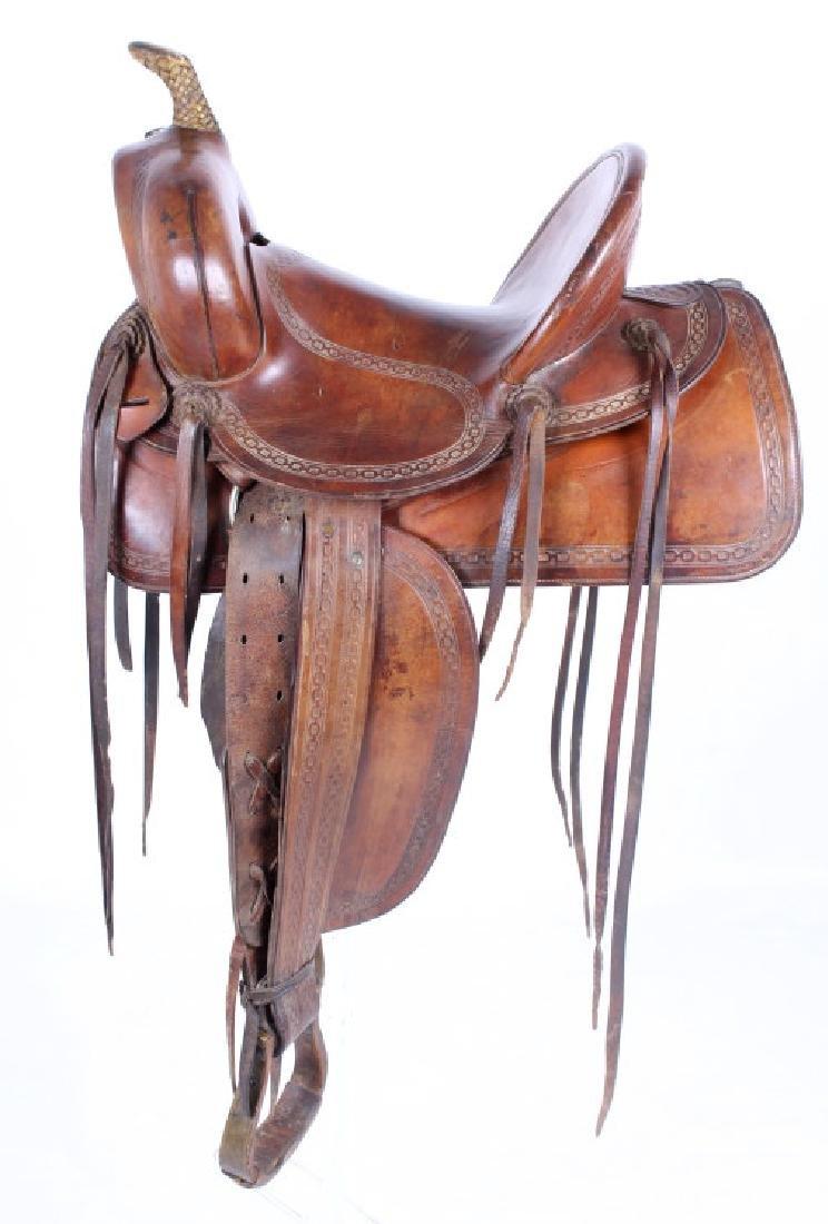 George Lawrence Saddle Portland, Oregon circa 1900
