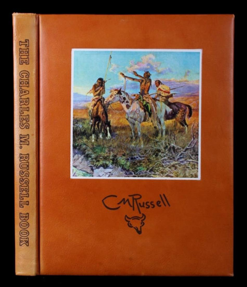 Leather Bound Edition of The Charlie Russell Book
