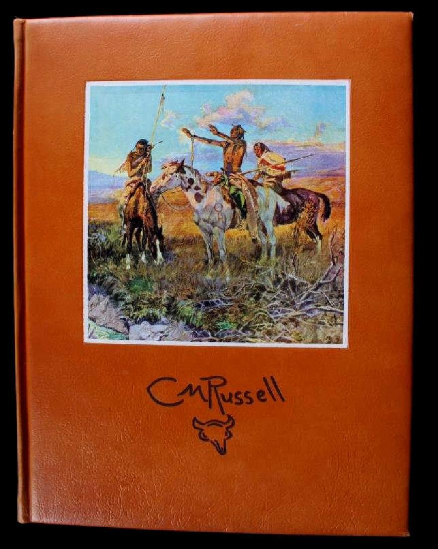 Leather Bound Edition of The Charlie Russell Book - 2