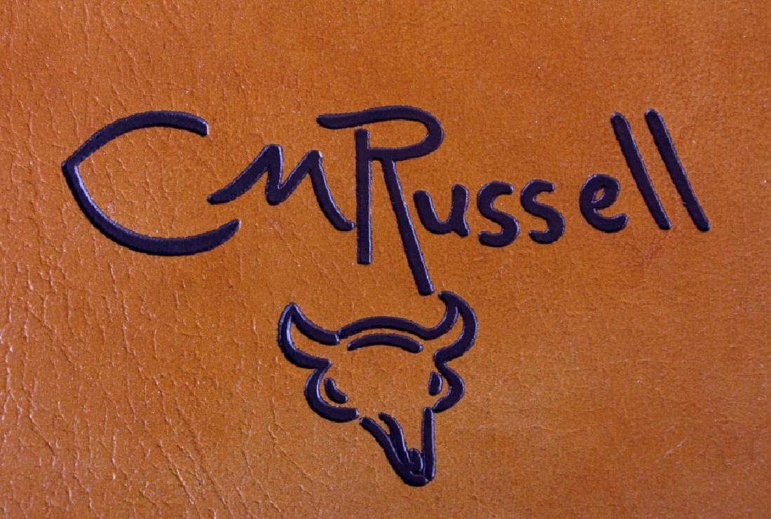 Leather Bound Edition of The Charlie Russell Book - 4