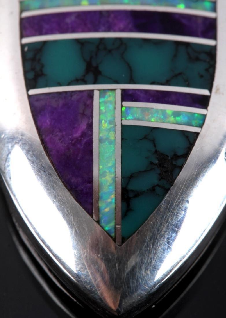 David Rosales Navajo Sterling Silver Necklace - 4