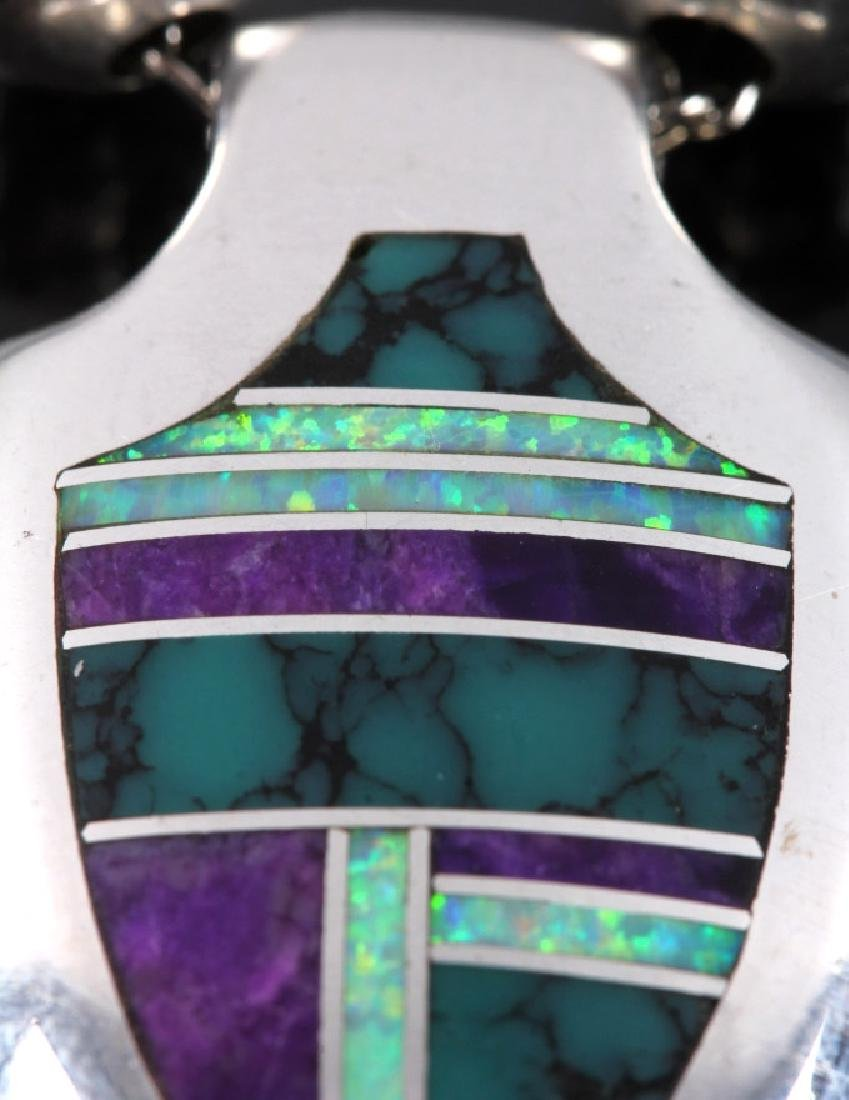 David Rosales Navajo Sterling Silver Necklace - 5