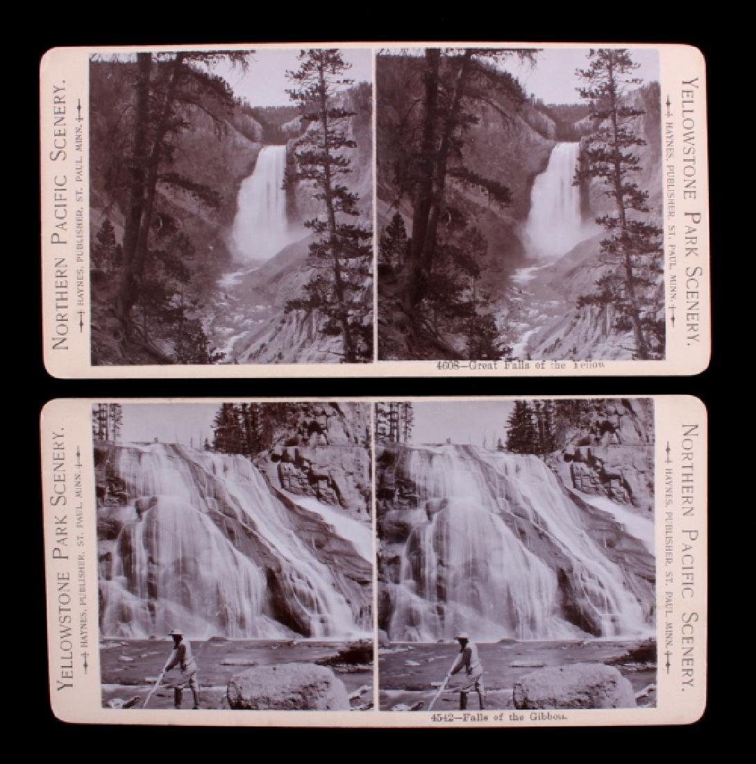Haynes Yellowstone Park Stereoview Collection - 4