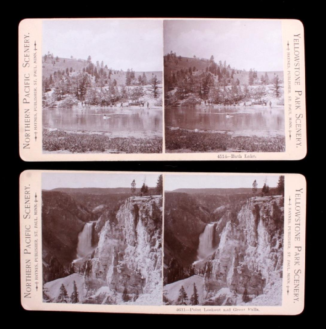 Haynes Yellowstone Park Stereoview Collection - 5