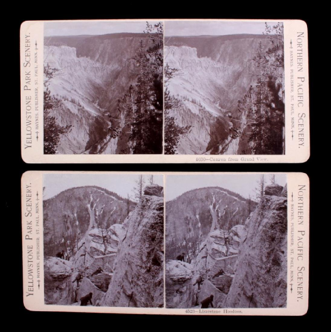 Haynes Yellowstone Park Stereoview Collection - 6