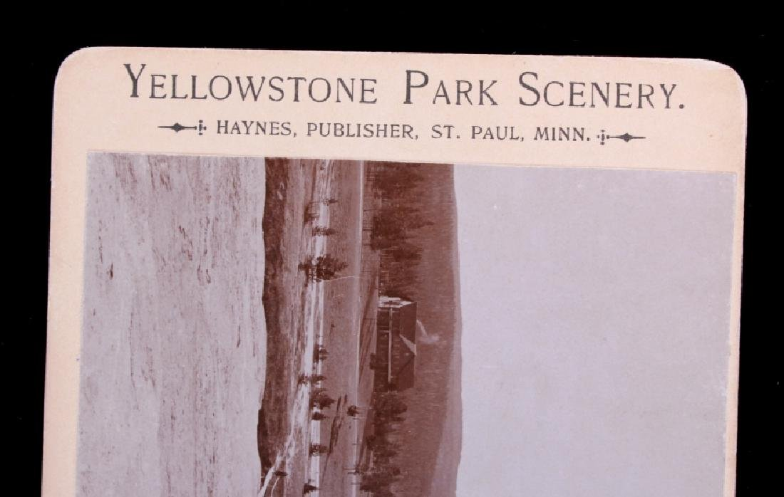 Haynes Yellowstone Park Stereoview Collection - 8