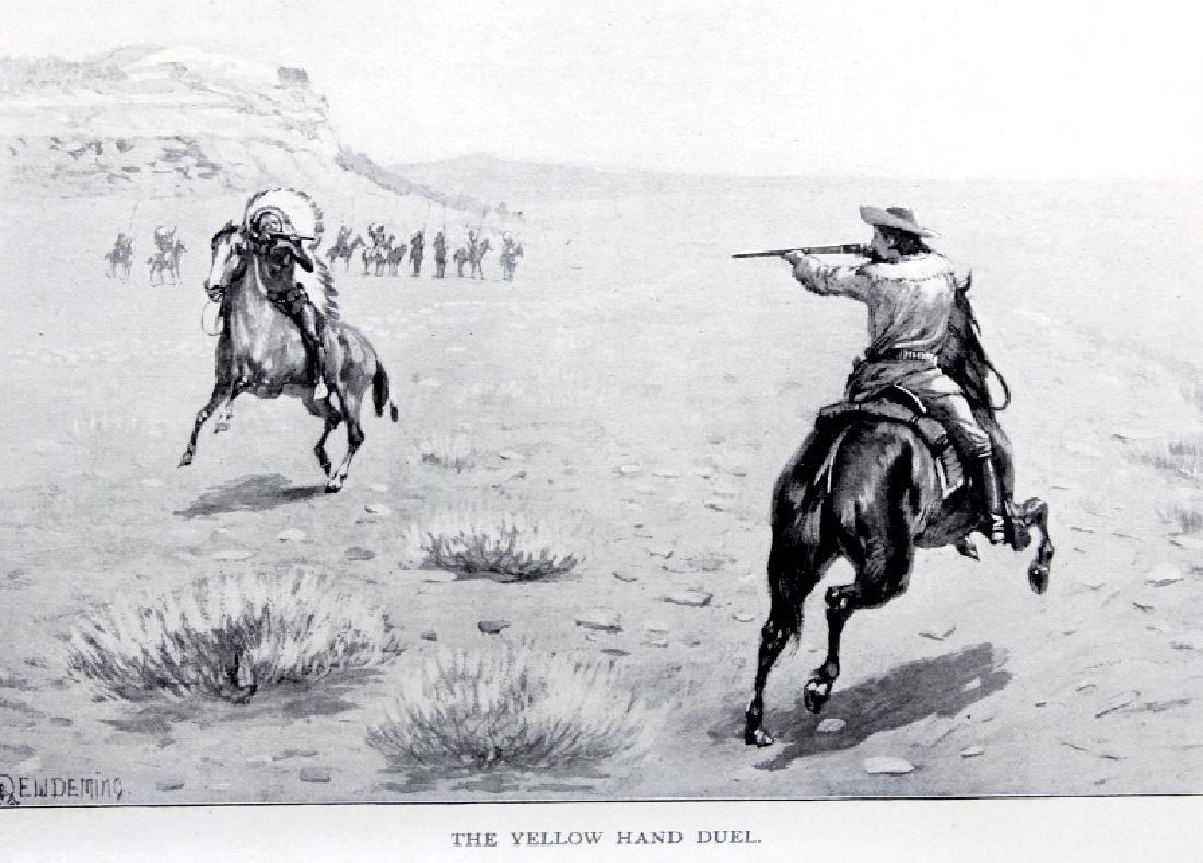 Last of the Great Scouts Buffalo Bill 1st Ed. 1899 - 13