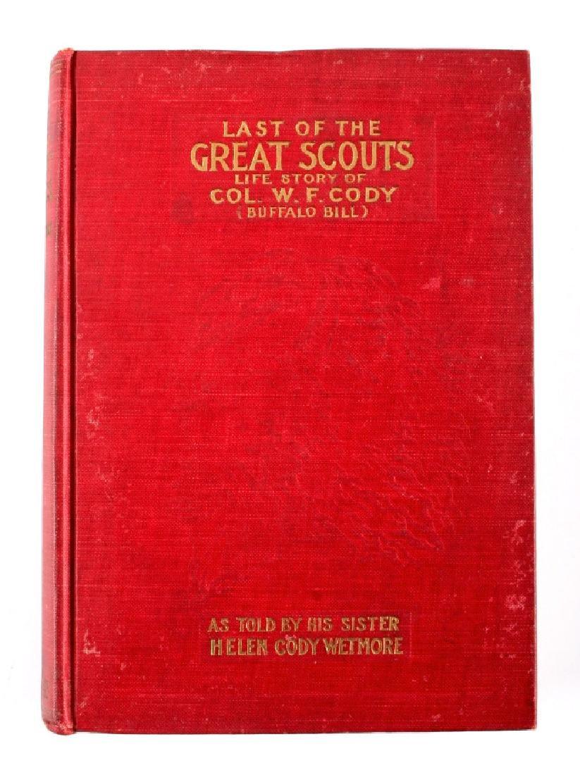 Last of the Great Scouts Buffalo Bill 1st Ed. 1899 - 15